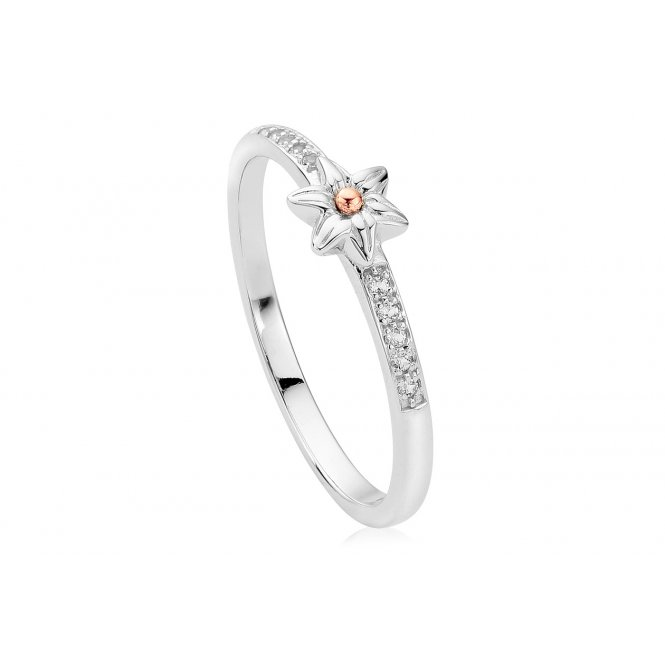 Clogau Daffodil Stacking Ring ~ 3SDSR/P