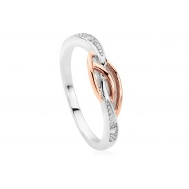 Clogau Eternal Love Affinity Stacking Ring ~ 3SELDSR/L