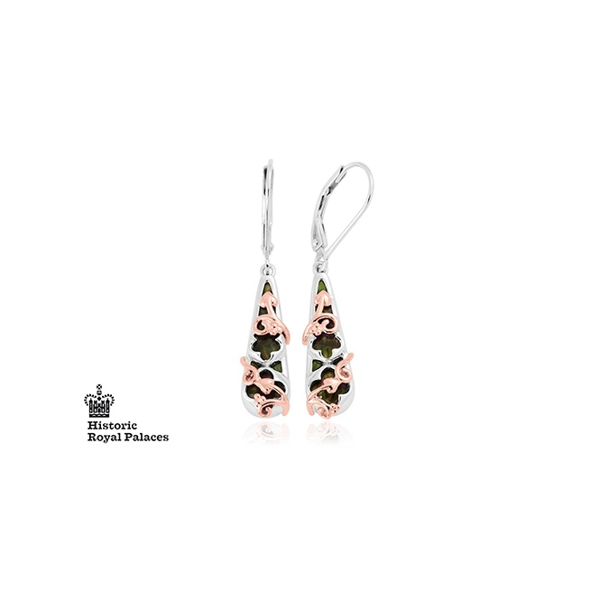 Clogau HRP Black Mother of Pearl Earring