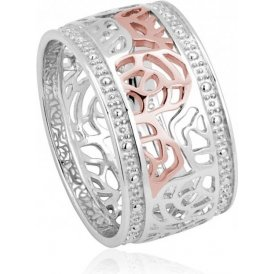 Clogau Royal Roses Ring P