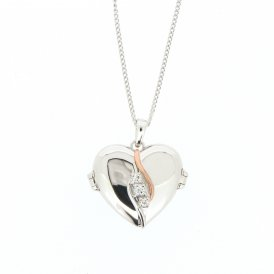Clogau The Spirit of Christmas Swarovski Topaz Locket ~ 3SOCL