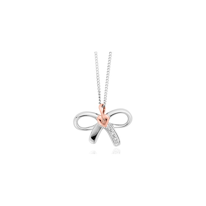 Clogau Tree of Life Bow Pendant ~ 3STOLBP