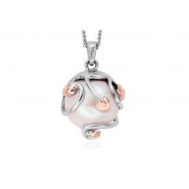 Clogau Tree of Life Caged Pearl Pendant
