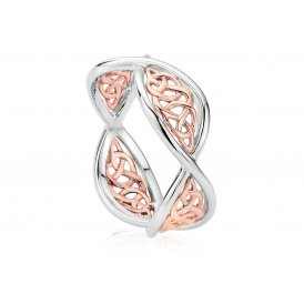 Clogau Welsh Royalty Ring ~ 3SEDR2/O