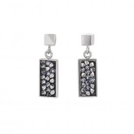 Coeur De Lion Anthracite Earrings ~ 4897/21-1223