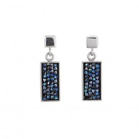 Coeur De Lion Earrings Dark Blue ~ 4834/21-0721