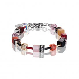 Coeur De Lion GeoCube Multicoloured Bracelet ~ 2838/30-0326