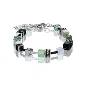 Coeur De Lion GeoCube Multicoloured Bracelet ~ 2838/30-0536