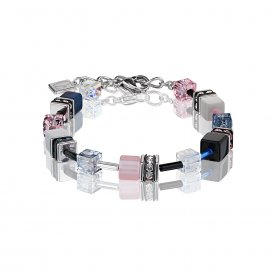 Coeur De Lion GeoCube Multicoloured Bracelet ~ 2838/30-0733