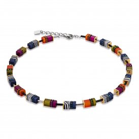 Coeur De Lion Multicolour Autumn Necklace ~ 4746/10-1538