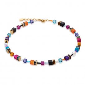 Coeur De Lion Multicolour Couture Necklace ~ 2838/10-1550