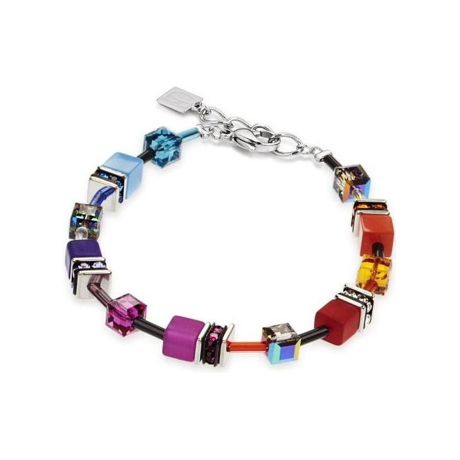 Coeur De Lion Multicolour Rainbow Bracelet ~ 2838/30-1520