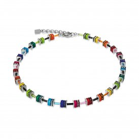 Coeur De Lion Multicolour Swarovski Necklace ~ 4409/10-1500