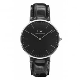 Daniel Wellington Classic Black Reading Gents Watch ~ DW00100135