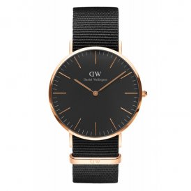 Daniel Wellington Classic Cornwall Rose Gold Gents Watch