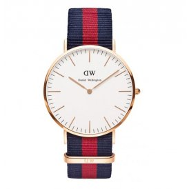 Daniel Wellington Classic Oxford Rose Gold Gents Watch 0101DW