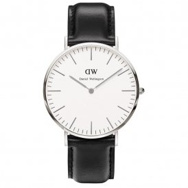 Daniel Wellington Classic Sheffield Silver Gents Watch
