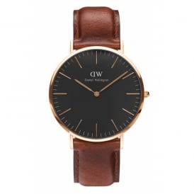Daniel Wellington Classic St Mawes Rose Gents Watch DW00100124