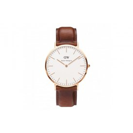 Daniel Wellington Classic StAndrews Rose Gold Gents Watch 0106DW