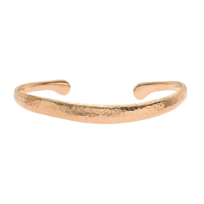 Dower & Hall Curved Torque Nomad Bangle - Rose Gold ~ NBG1-VR