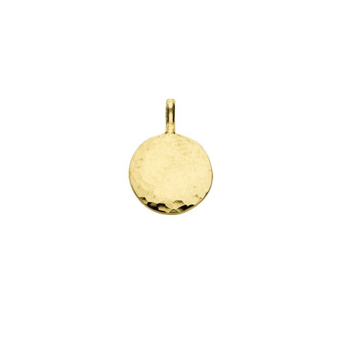 Dower & Hall Gold Disc Medium Pendant ~ EGC45-V