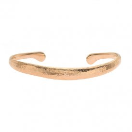 Dower & Hall Nomad Curved Torque Rose Bangle ~ NBG1-VR