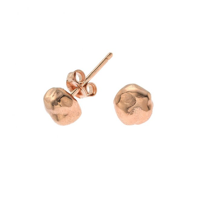 Dower & Hall Nomad Medium Rose Earrings ~ NE244-VR