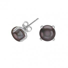 Dower & Hall Pearl Stud Earrings - Peacock ~ LUE32-S-PKP