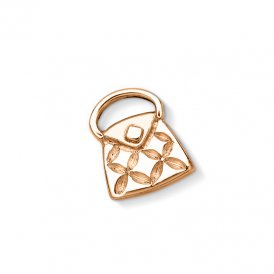 Dower & Hall Rose Gold Handbag Charm ~ CC25-VR