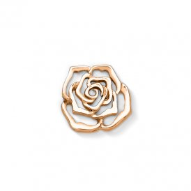 Dower & Hall Rose Gold Rose Charm ~ CC31-VR