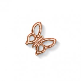 Dower & Hall Rose Gold Small Butterfly Charm ~ CC9-VR