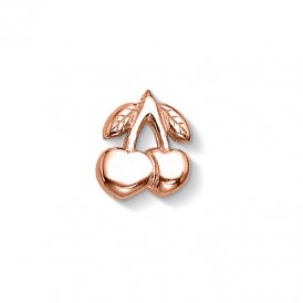 Dower & Hall Rose Gold Tiny Cherries Charm ~ CC163-VR