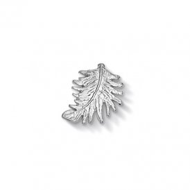 Dower & Hall Silver Feather Charm ~ CC11-S