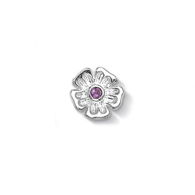 Dower & Hall Silver Forget-Me-Not Charm ~ CC102-S