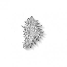 Dower & Hall Silver Large Feather Charm ~ CC166-S