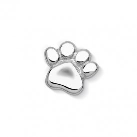Dower & Hall Silver Pet Paw Charm ~ CC29-S