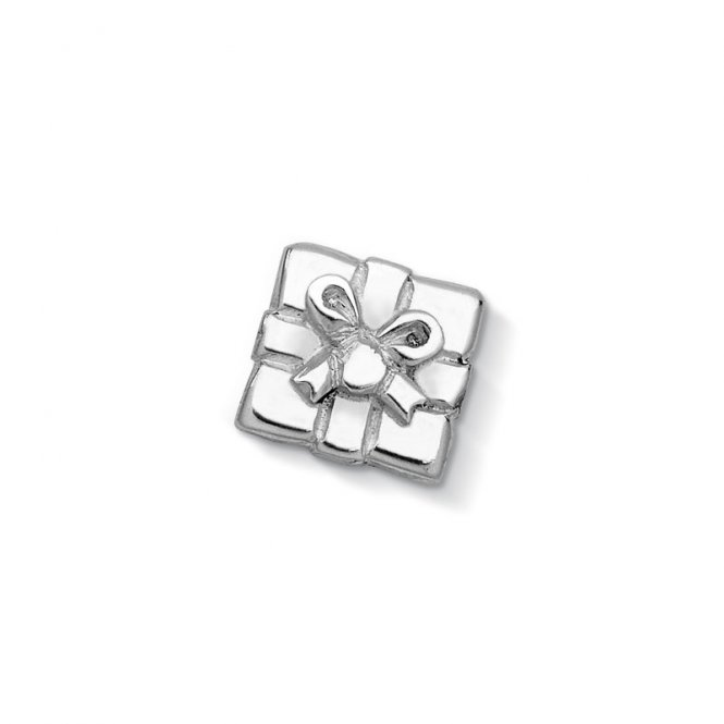 Dower & Hall Silver Present Charm ~ CC24-S
