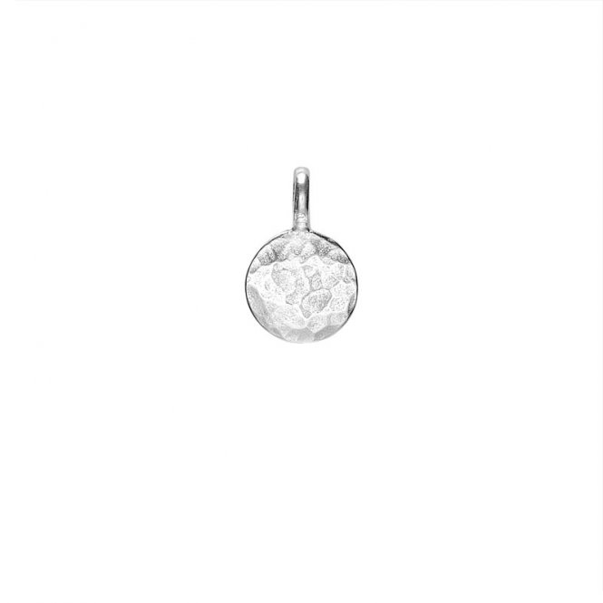 Dower & Hall Silver Small Disc Pendant ~ EGC41-S