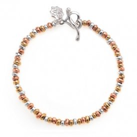 Dower & Hall Tri-Coloured Nomad Bracelet ~ NB335-S-V