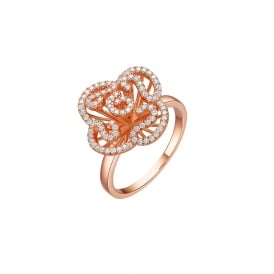 Fei Liu Cascade Mini Ring in Rose Gold P ~ CAS-925P-004-CZ00