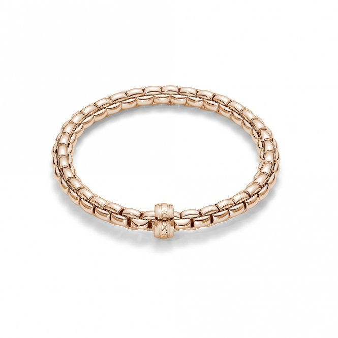 Fope Eka Bracelet - Rose Gold - Medium ~ 704B-R
