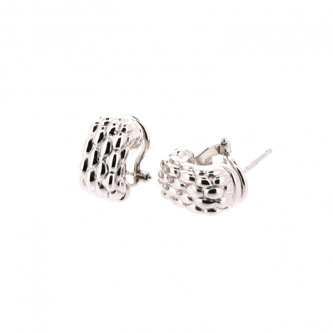 Fope Luci Earrings - White Gold ~ F120-B