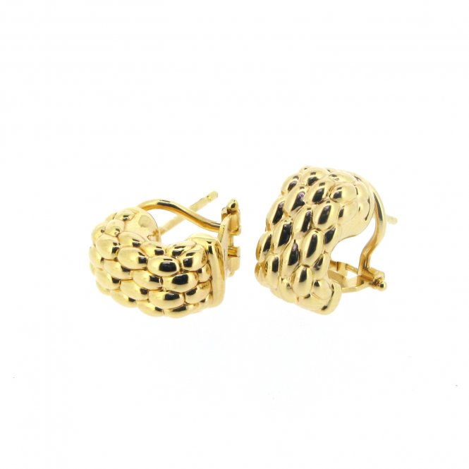 Fope Luci Earrings - Yellow Gold ~ F120-G