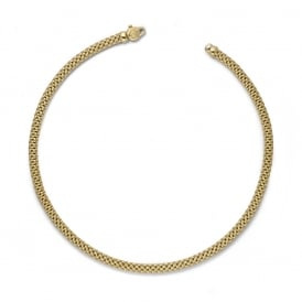 Fope Meridiani Necklace - Yellow Gold - 43cm ~ 591C-G