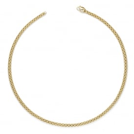 Fope Unica Necklace - Yellow Gold - 43cm ~ 610C-G