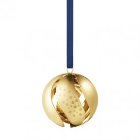 Georg Jensen 2017 Christmas Ball - Gold ~ 10002896