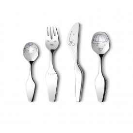 Georg Jensen Alfredo Twist Family Cutlery Set ~ 3580049