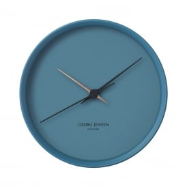 Georg Jensen Blue Koppel 22cm Wall Clock ~ 3587457