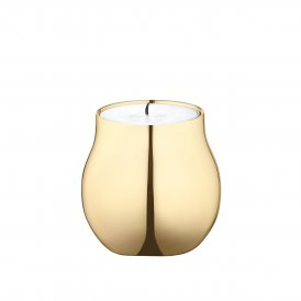 Georg Jensen Cafu Tealight Holder Gold Plated ~ 3586341