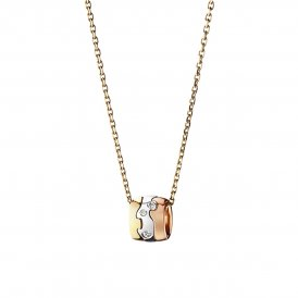 Georg Jensen Gold Diamond Fusion Pendant ~ 3517104